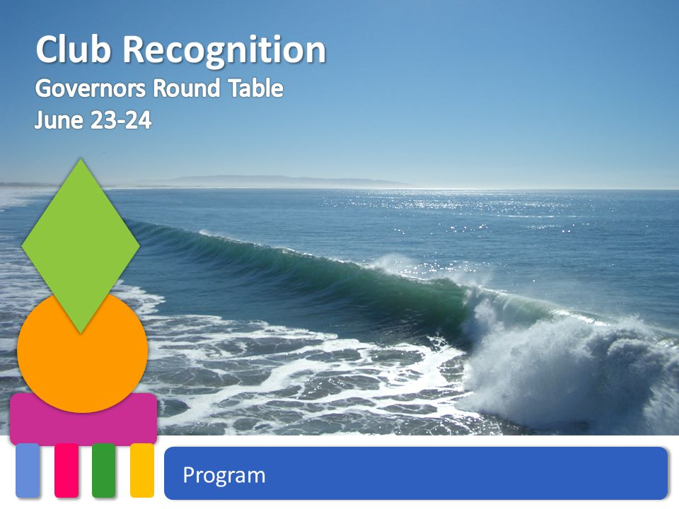 Program Club Recognition