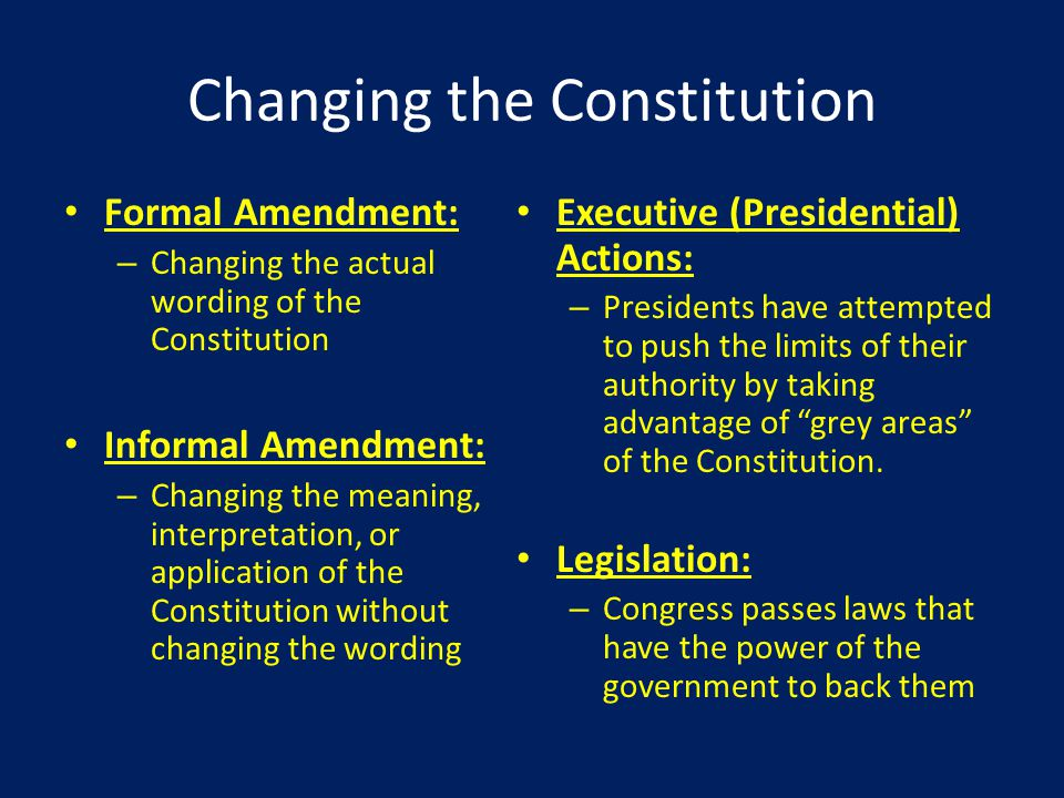 How the Constitution Can Be Amended T2-10