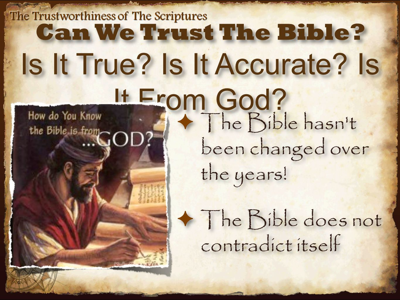 Can The Bible Be Understood.
