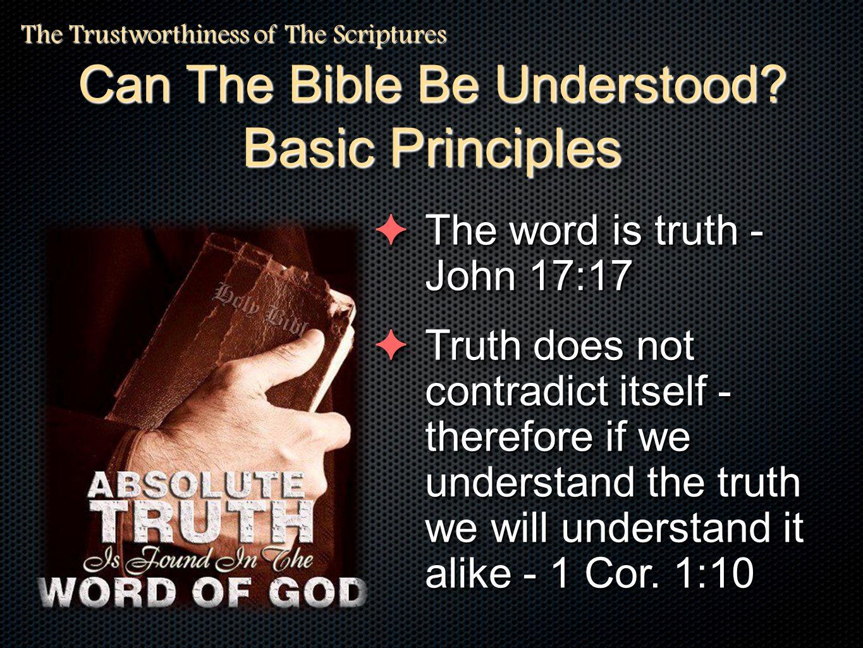 Hear It Believe It Obey It Follow It Be Blessed Through It.