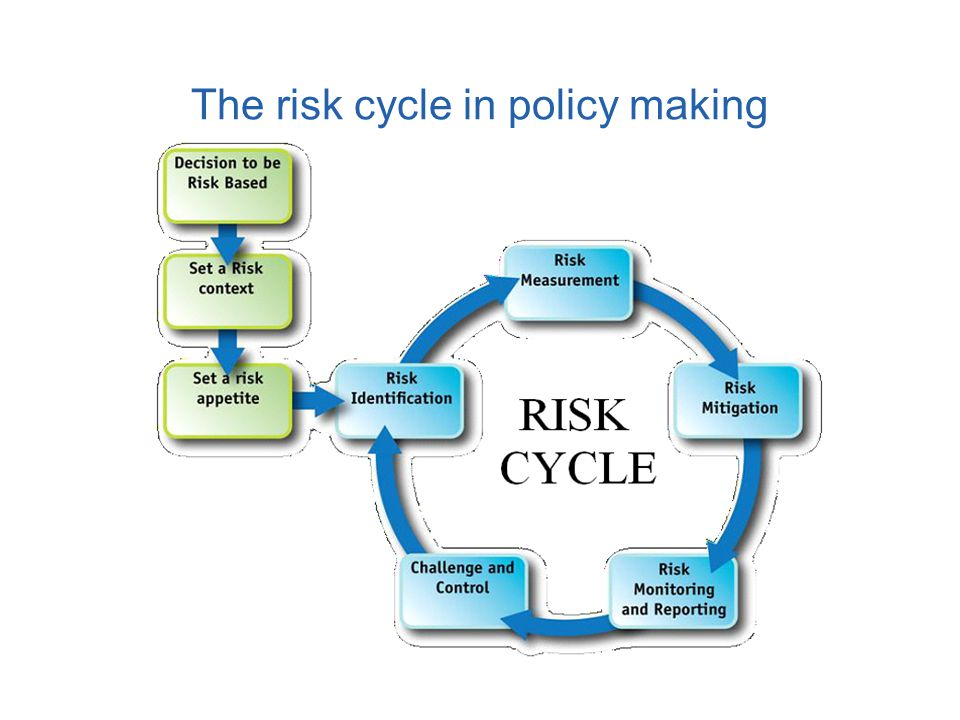 The risk cycle in policy making