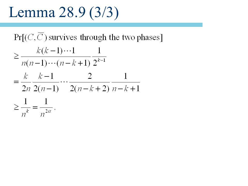 Lemma 28.9 (3/3)