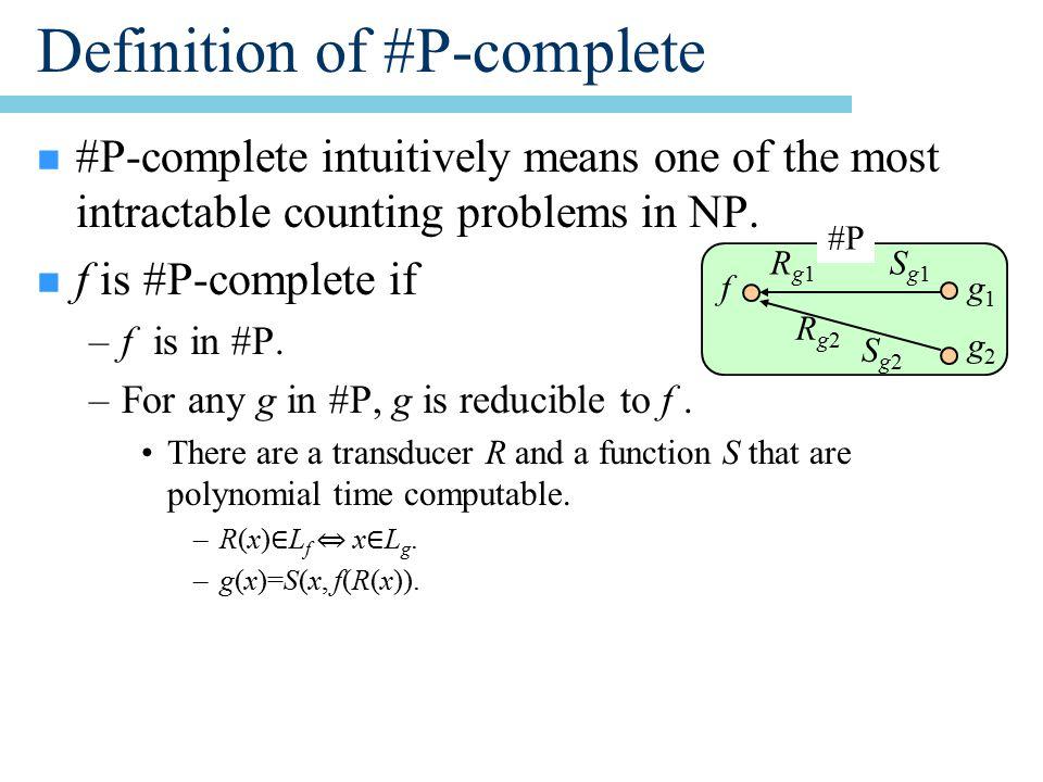 Lemma 28.2 n Random variable X can be efficiently sampled.