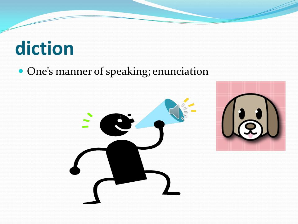 """""""Dict"""" Means """"Speak"""""""