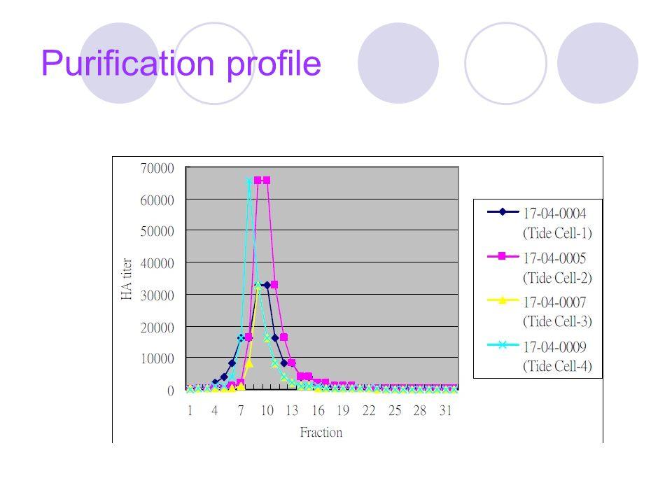 Purification profile