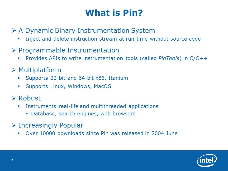3 What is Pin.