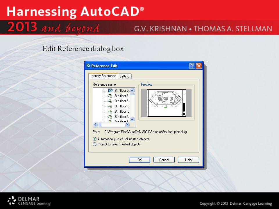 Edit Reference dialog box