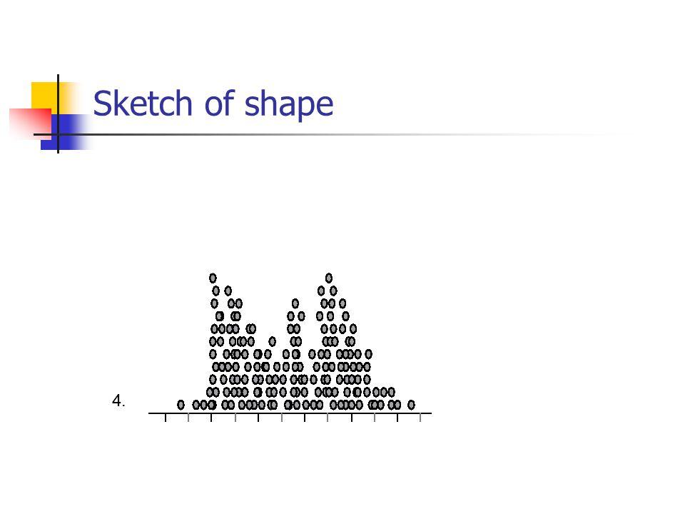 Sketch of shape 4.