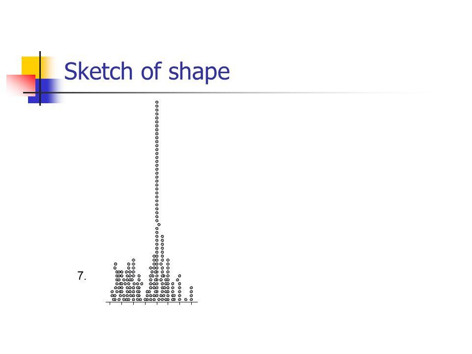 Sketch of shape 7.
