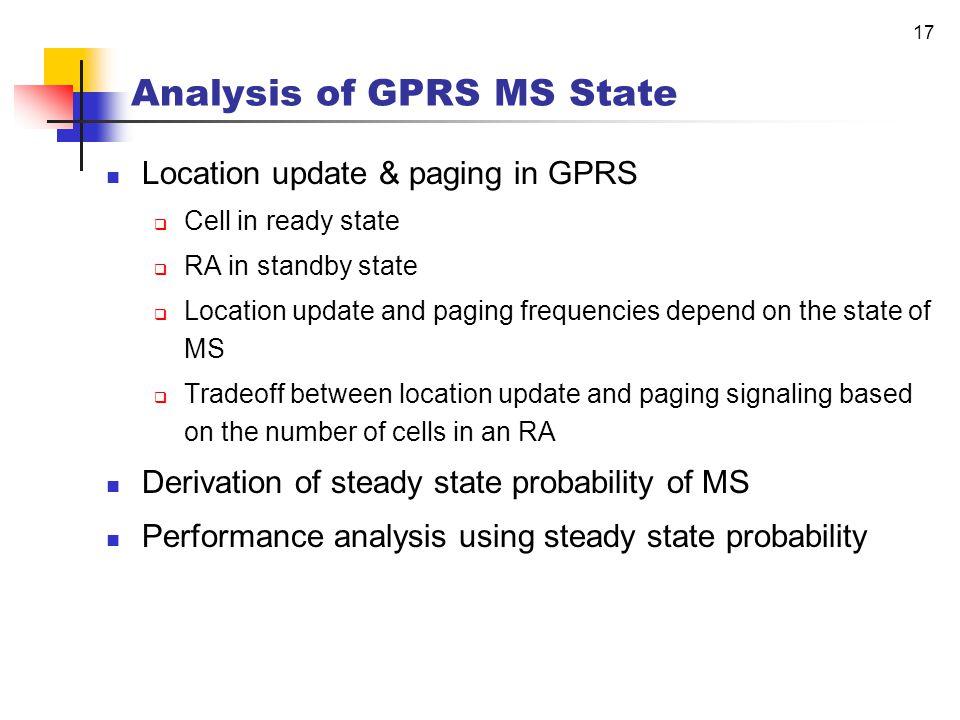 16 Research on the Analysis of MS State Yun Won Chung, Dan Keun Sung, and A.