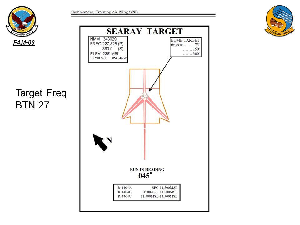 FAM-08 Target Freq BTN 27