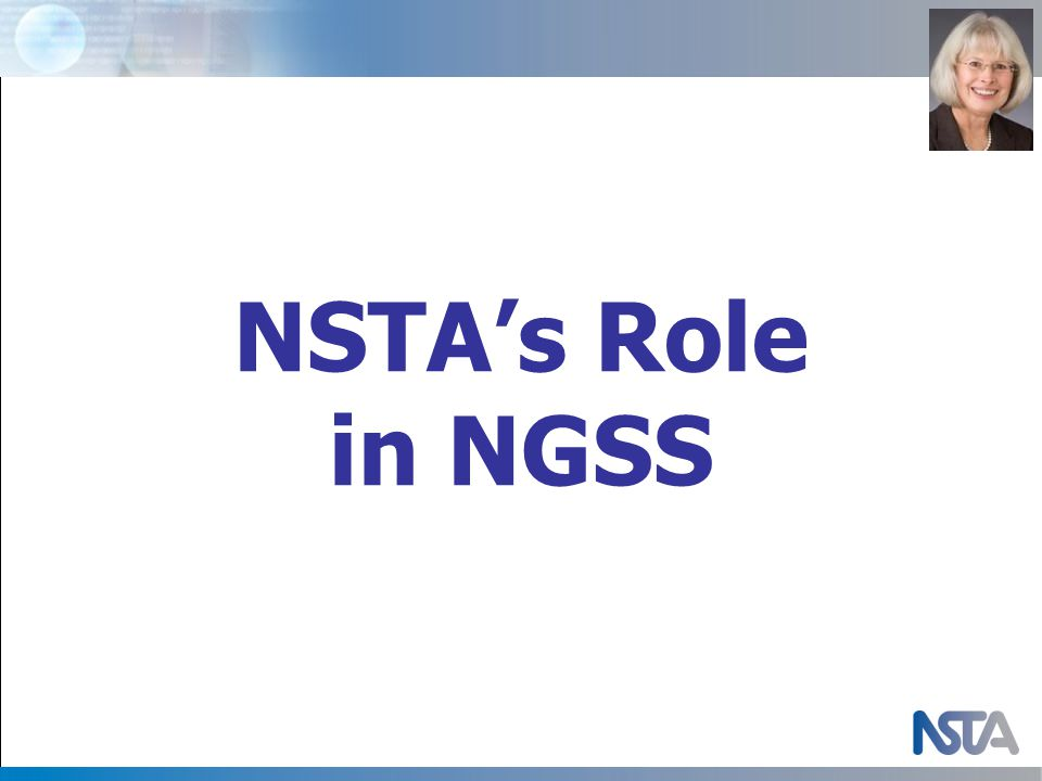 NSTA's Role in NGSS