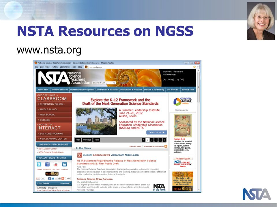 NSTA Resources on NGSS www.nsta.org