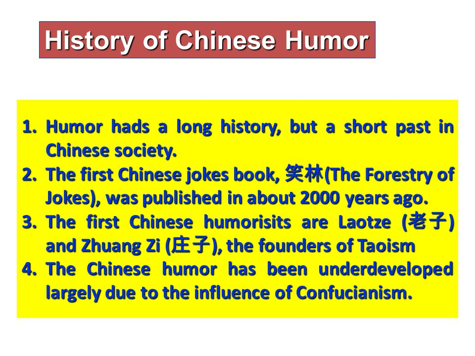 Use of Humor Therapy in History Humor has been used in medicine throughout recorded history.