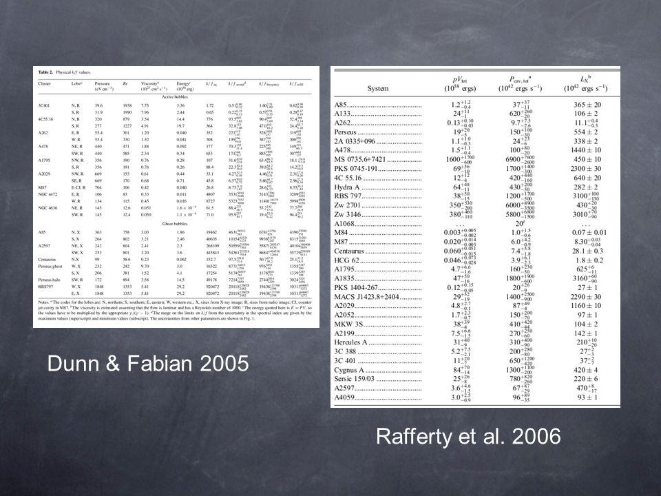 Dunn & Fabian 2005 Rafferty et al. 2006
