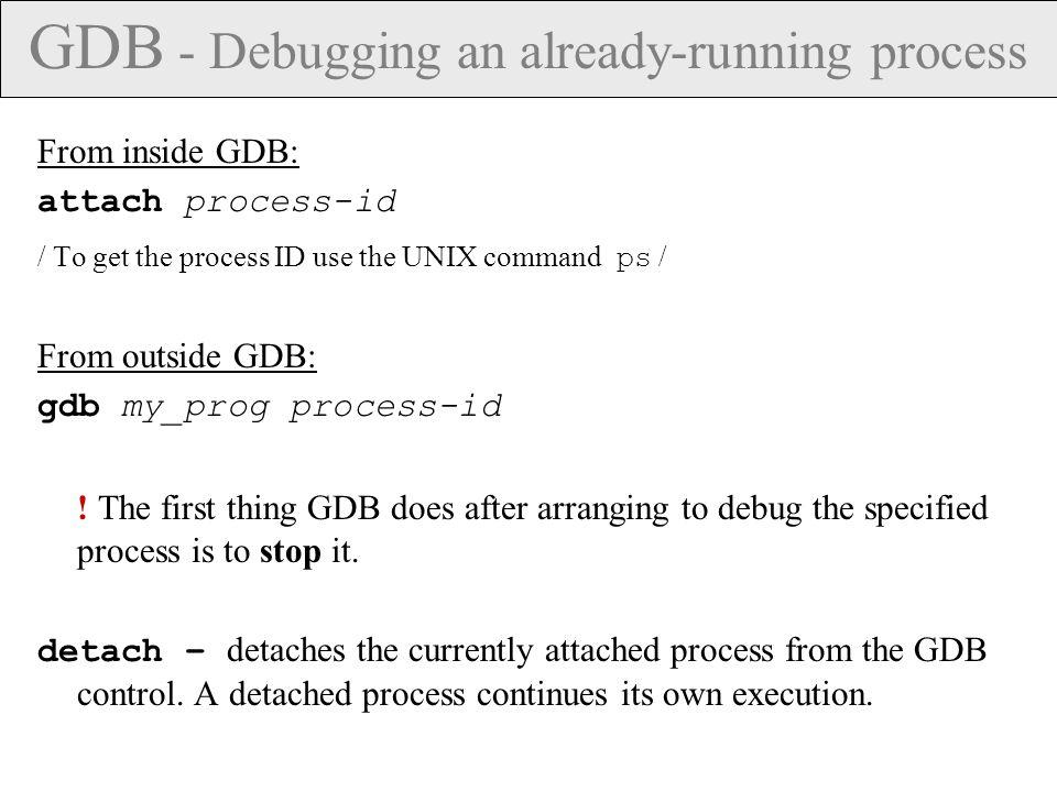 DDD – Command menu