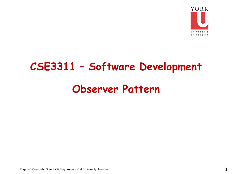 12 Observer Architecture – Example OBSERVER * update * SUBJECT attach(observer) detach(observer) notify TEXT_VIEW get_state set_state BAR_VIEW + update + observers : set[…] update * subject TARGET_VIEW + update + RECTANGLE_VIEW + update + subject