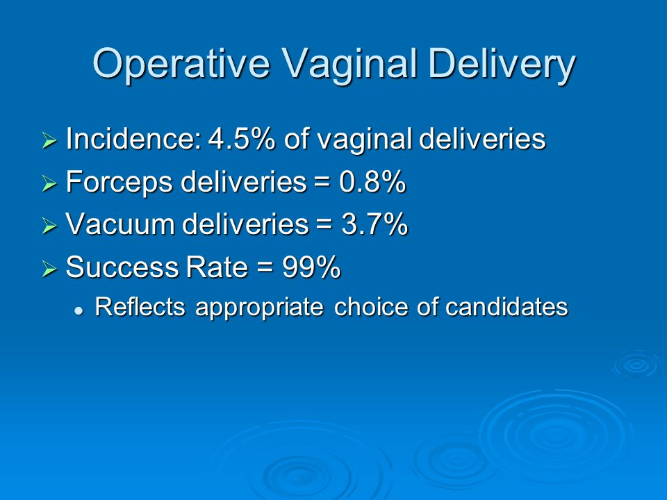 What Do I Need To Know Before Attempting an Operative Delivery.