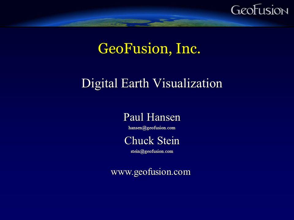 GeoFusion, Inc.