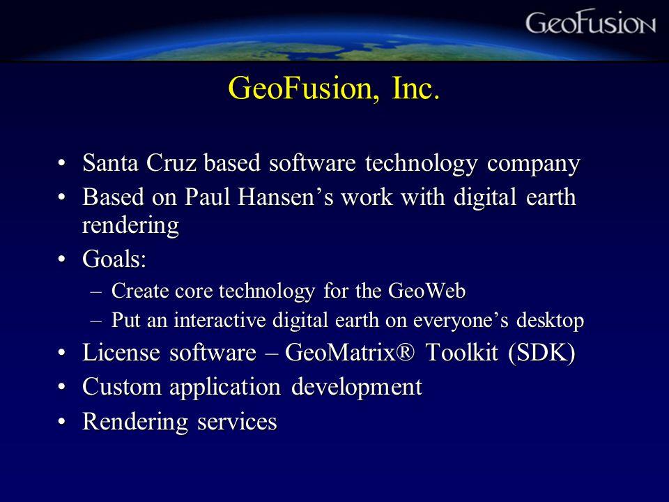 Accelerating Digital Earth Development Early choice: application vs.