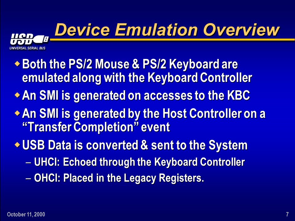 October 11, 200018 What Constitutes A Mass Storage Device.