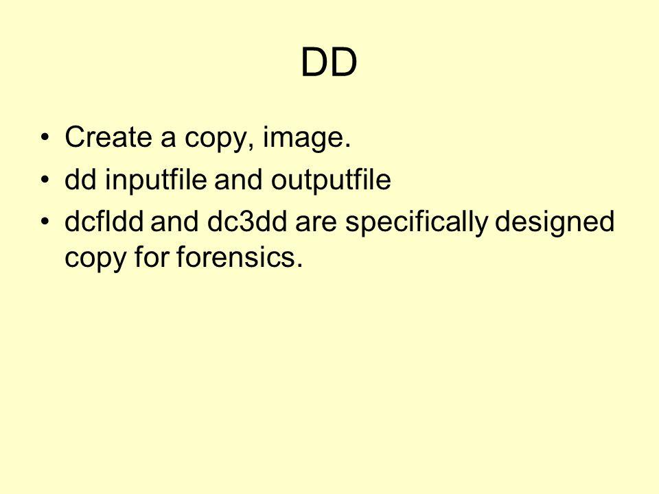 DD Create a copy, image.