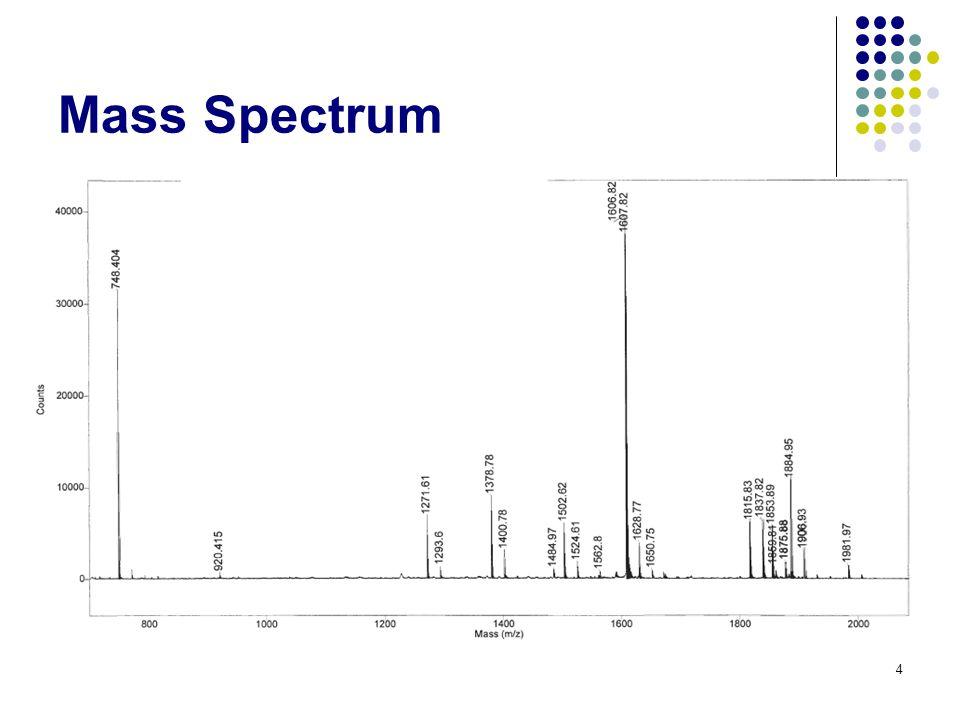 Mass Spectrum 4