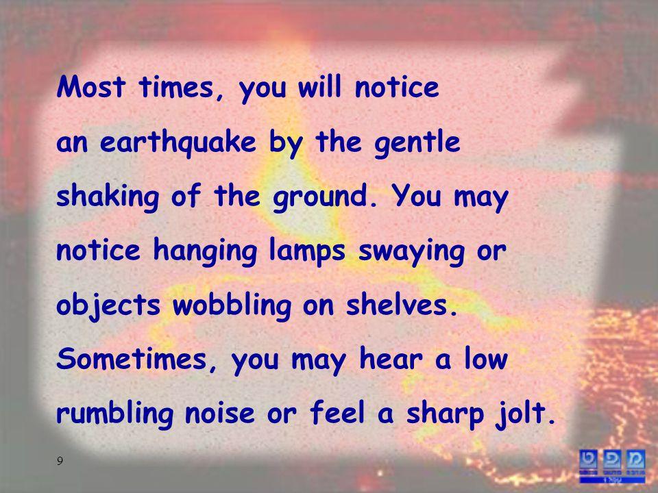 10 shakingsway sound of noisewobbling movementrumbling