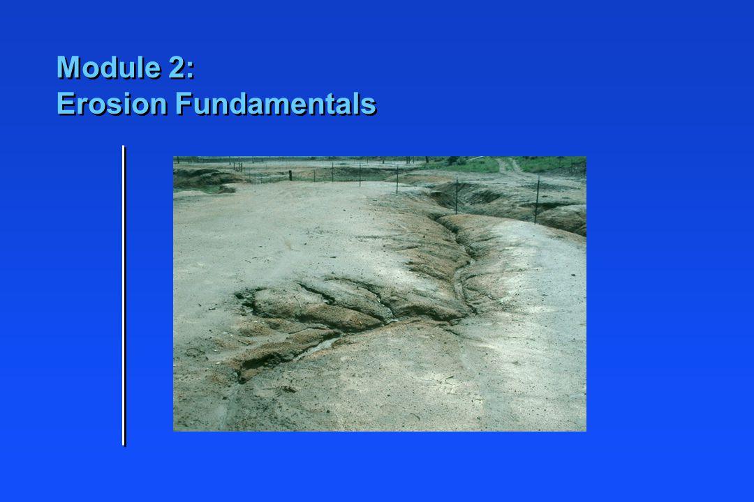 Module 2: Erosion Fundamentals