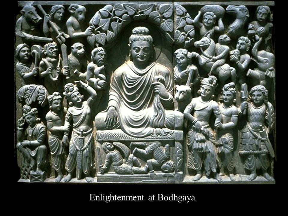 Enlightenment at Bodhgaya