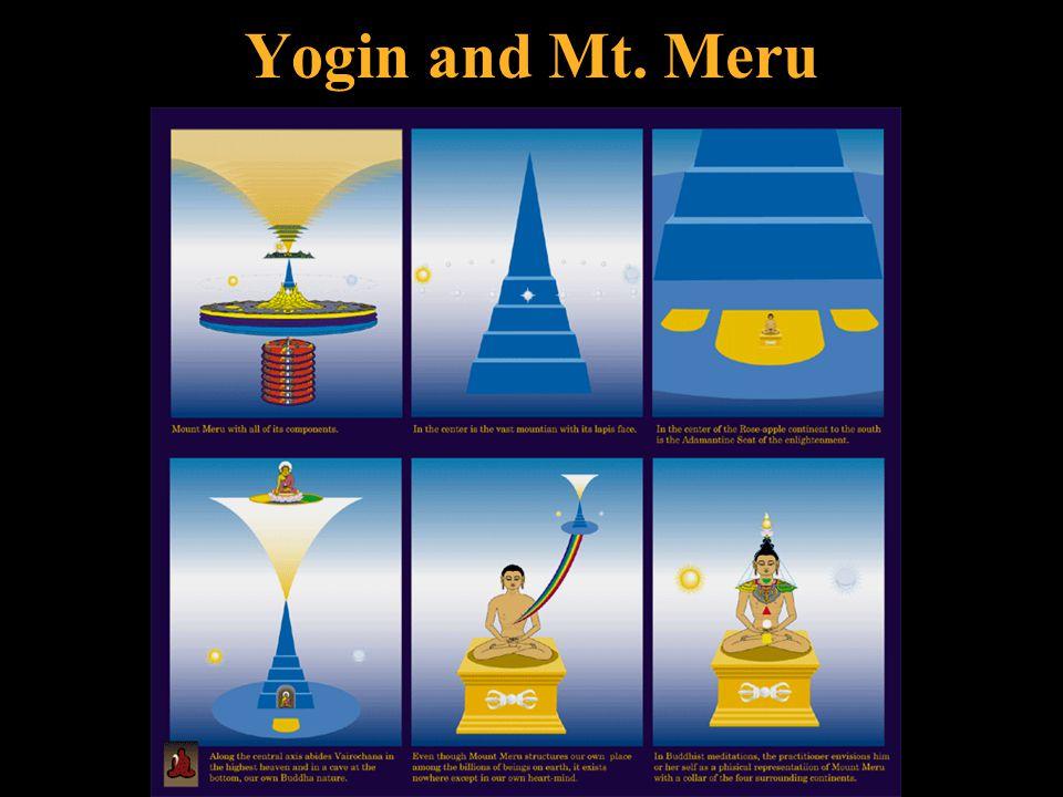 Yogin and Mt. Meru