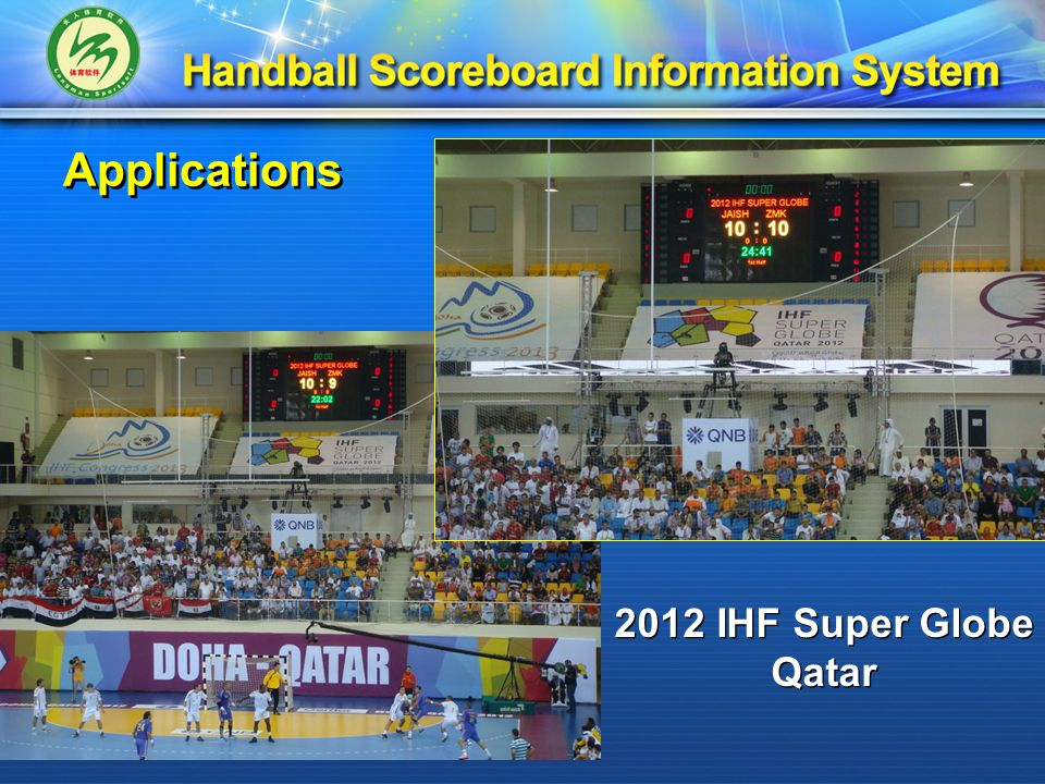 2012 IHF Super Globe Qatar 2012 IHF Super Globe Qatar Applications
