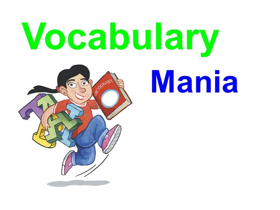 Vocabulary Mania