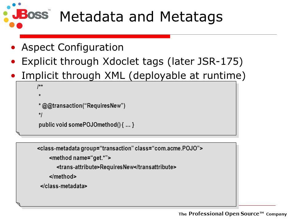 The Professional Open Source™ Company Tomcat standalone or Tomcat inside JBoss .