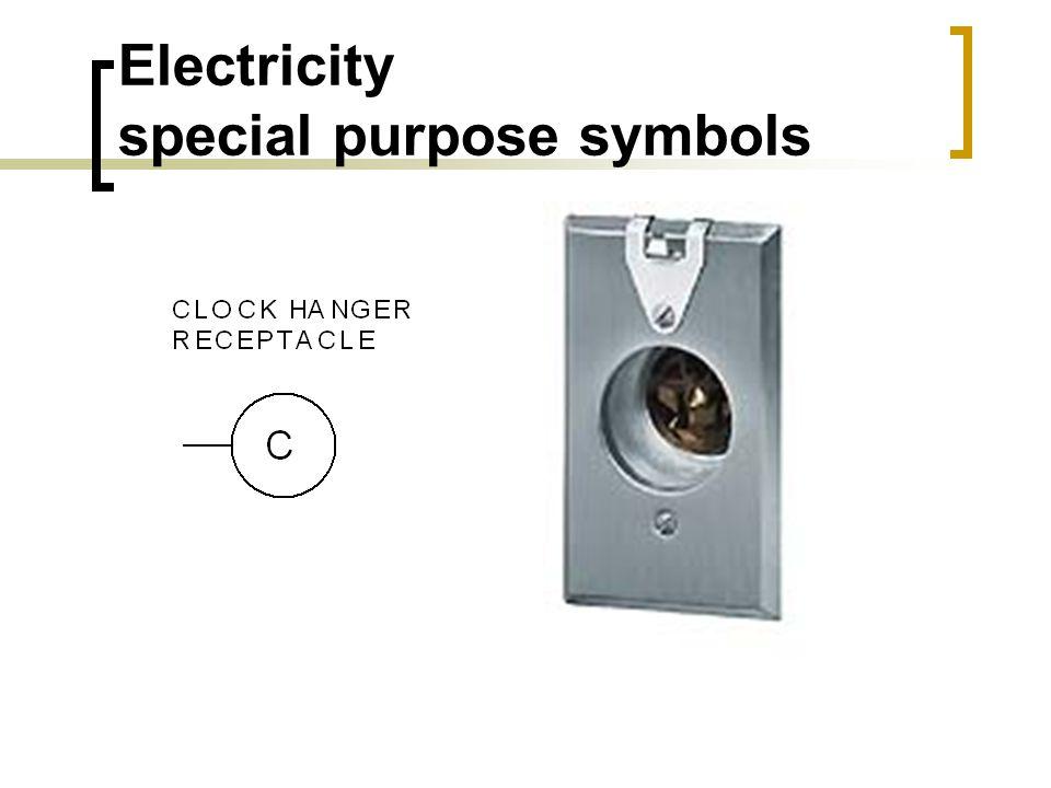 Electricity special purpose symbols