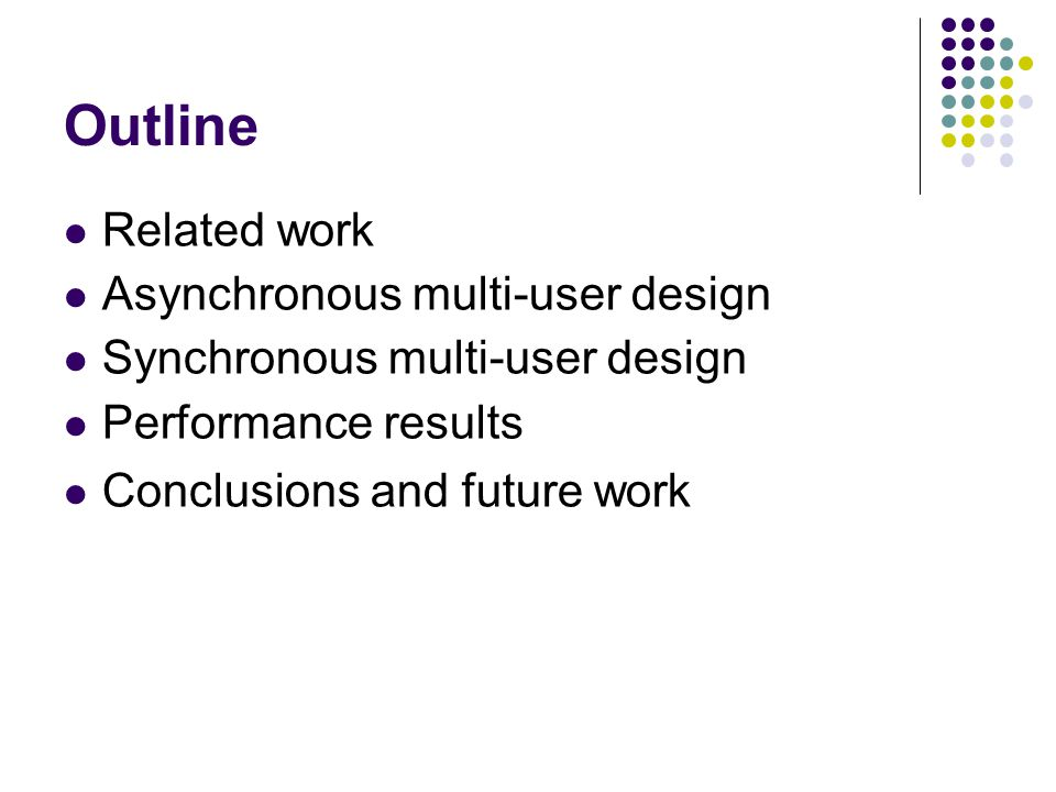 Related Work What is collaborative software.