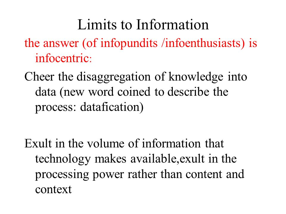 8. Re-Education the future of institutions, in particular the university