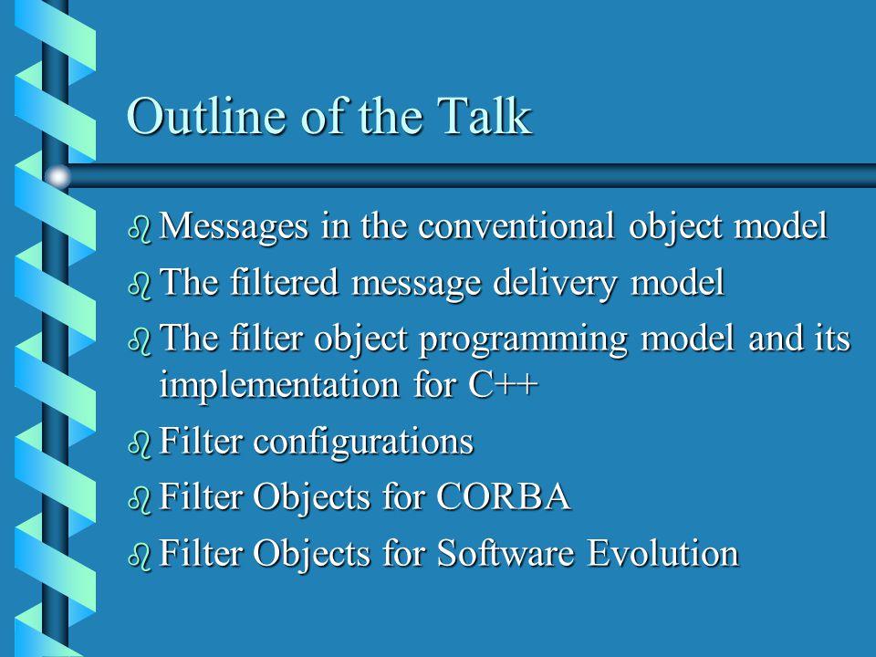 An Application of Filter Objects (D Janaki Ram et.
