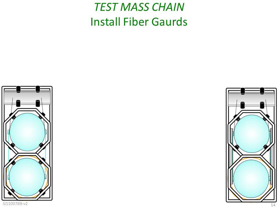 G1100769-v2 14 TEST MASS CHAIN Install Fiber Gaurds