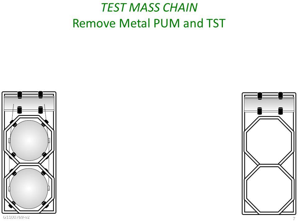 G1100769-v2 7 TEST MASS CHAIN Remove Metal PUM and TST