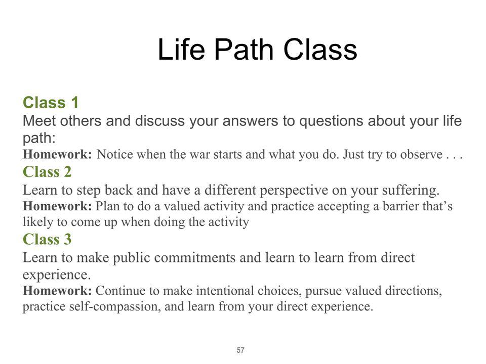 57 Life Path Class