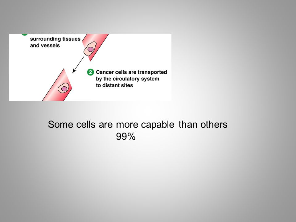 Some cells are more capable than others 99%