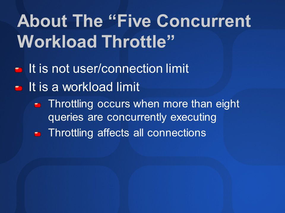 Knowing When To Upgrade Detect throttling… is it time to upgrade.