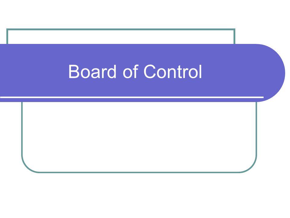 Board of Control