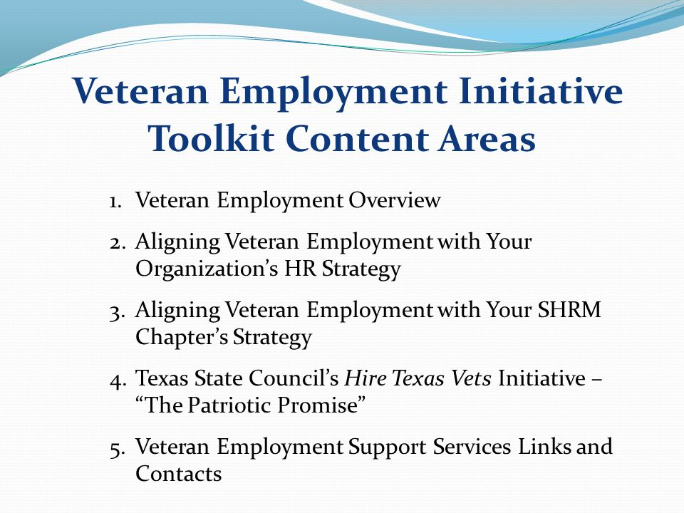 The Patriotic Promise Symposium Program Highlights Texas Workforce Commission, Labor Markets & Career Info.