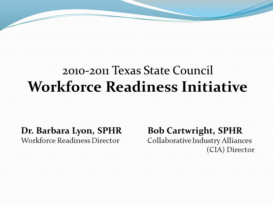 Workforce Readiness Diversity College Relations SHRM Core Leadership Areas & Veteran Employment Initiatives