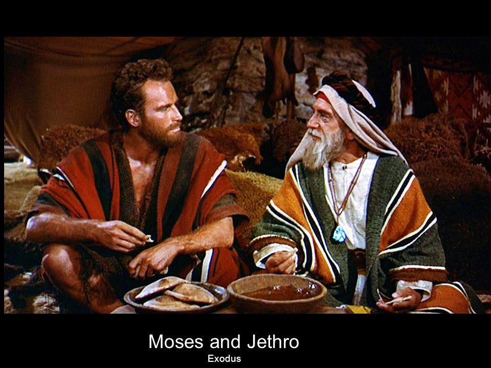 Moses and Jethro Exodus