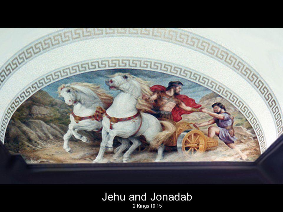 Jehu and Jonadab 2 Kings 10:15