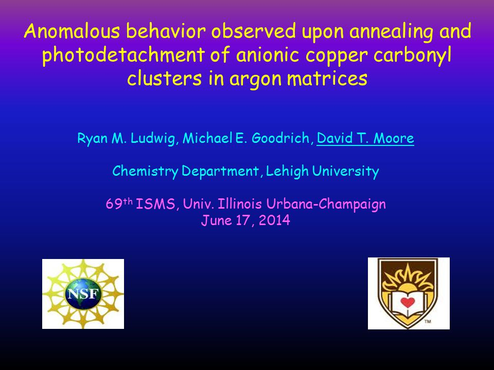Anomalous behavior observed upon annealing and photodetachment of anionic copper carbonyl clusters in argon matrices Ryan M.