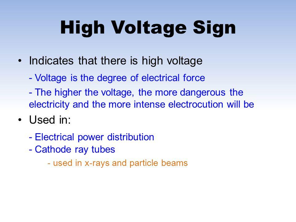 Trefoil (Radiation) Sign